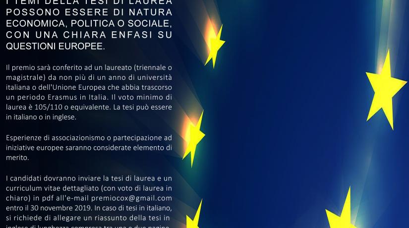 Premio Jo Cox Europa, 4a Edizione